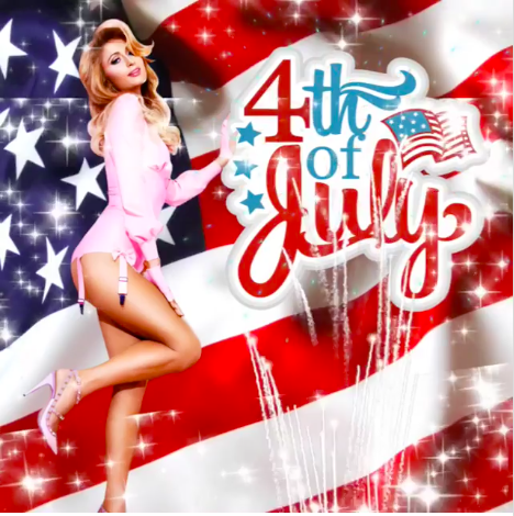4th of july, celebs, social media, feest