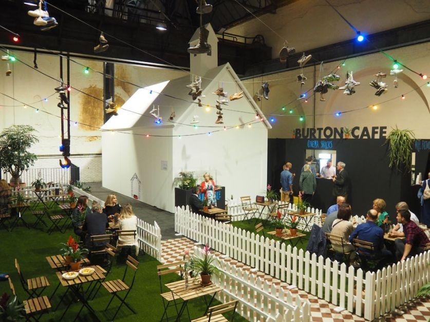 Tim Burton Cafe