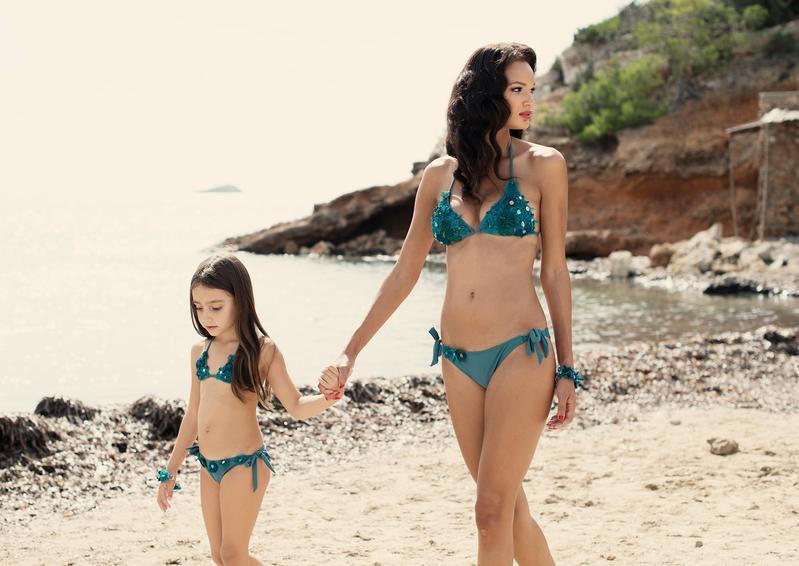 bknbz bikini matching moeder dochter