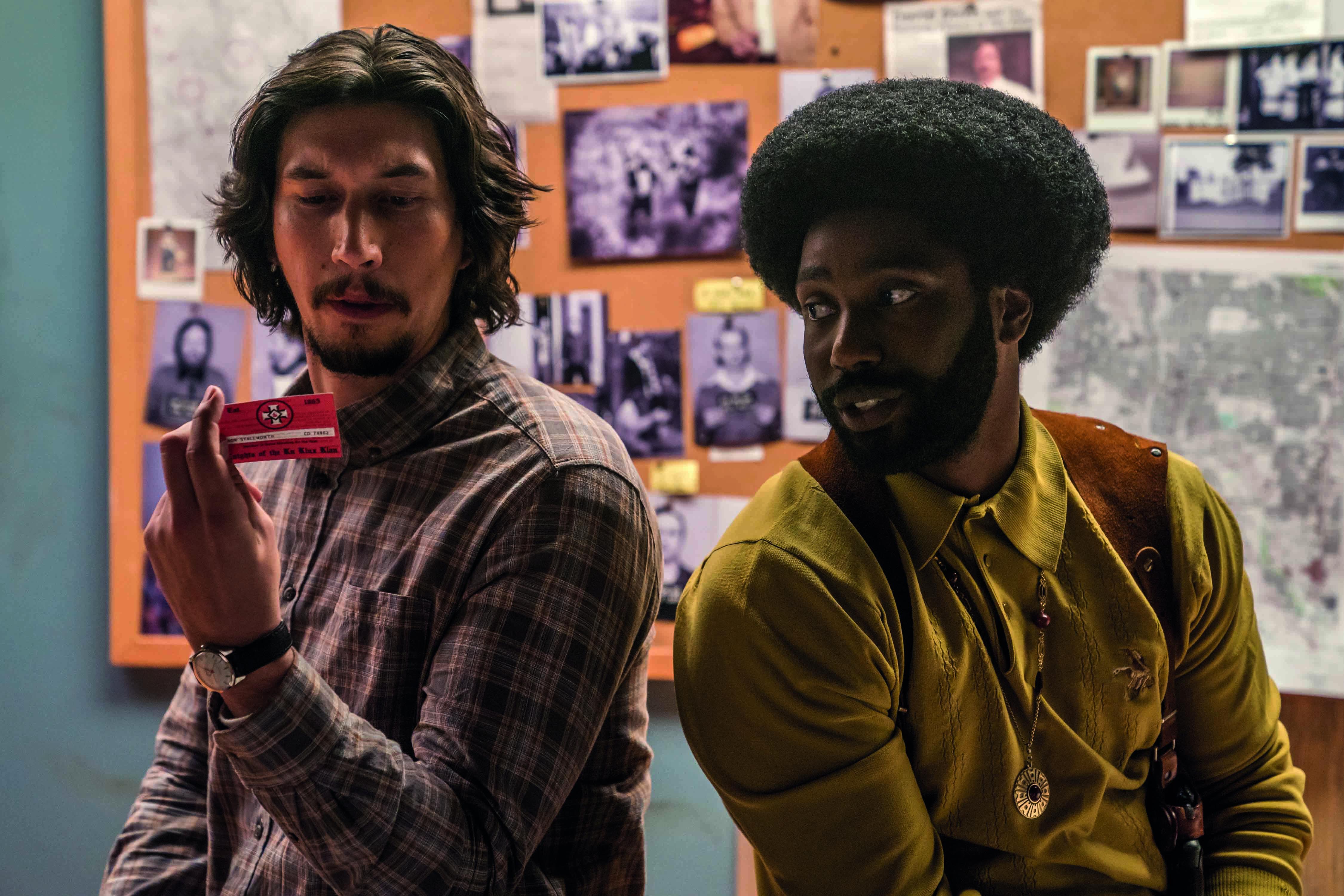 BlacKkKlansman spike lee adam driver film racisme