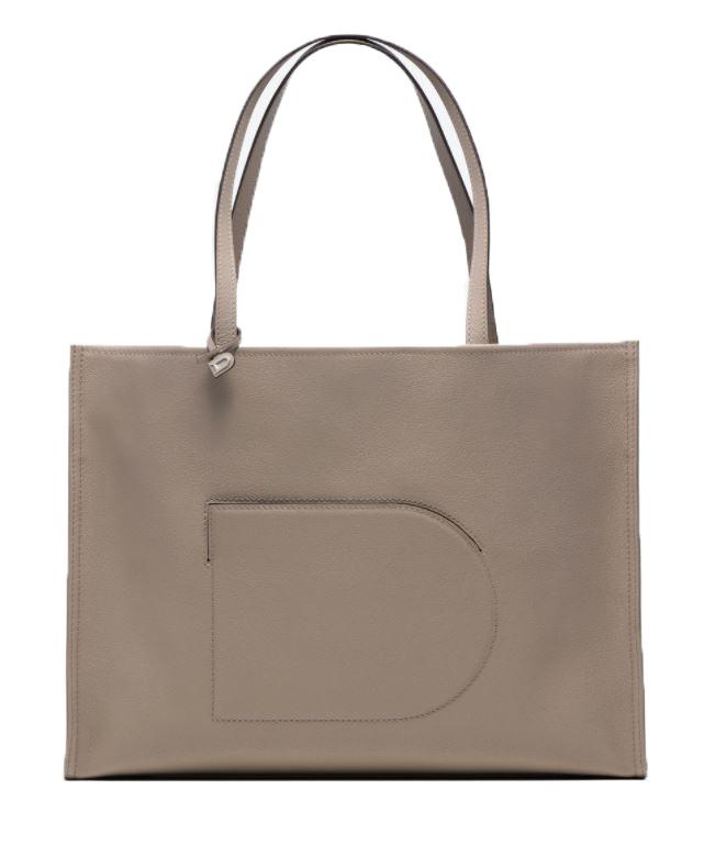 delvaux minimalistische handtassen shopper