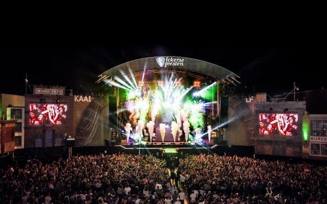 festival, zomer, augustus, vlaanderen, wallonie, agenda, muziek, kamping kitsch, lokerse feesten, ieperfest, w-fest