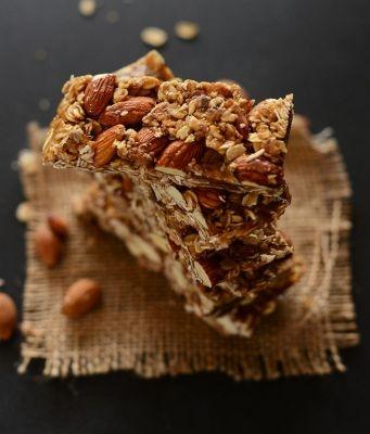 granola bars minimalist baker recept