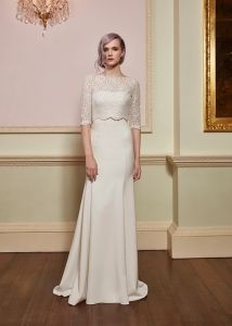 jenny packham trouwjurk bruiloft