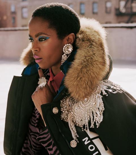 Lauryn Hill scoort een gigantische modecampagne