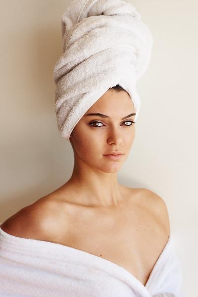 mario testino towel series kendall jenner