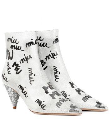 miu miu boots print