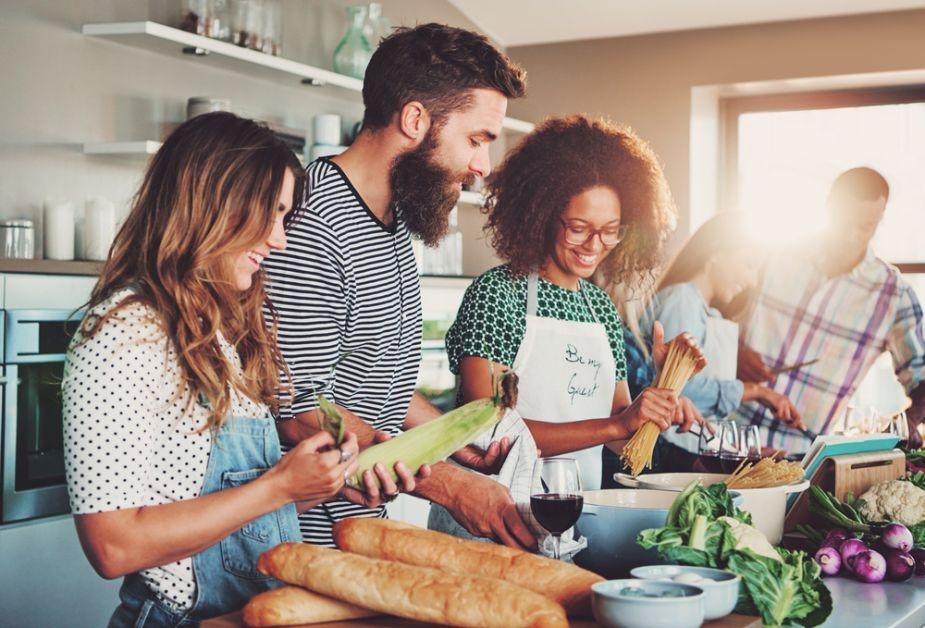 samen koken op kot gezond