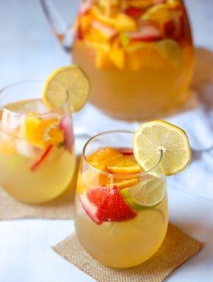 sangria, recept, tequila, vodka, lavendel, watermeloen, limoncello, framboos