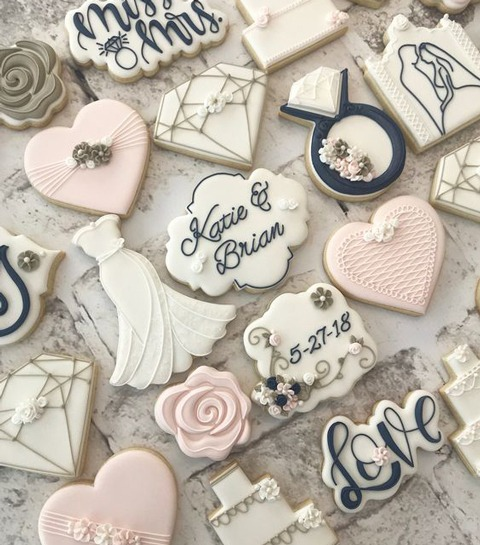 Vier je verloving met very Instagrammable verlovingskoekjes