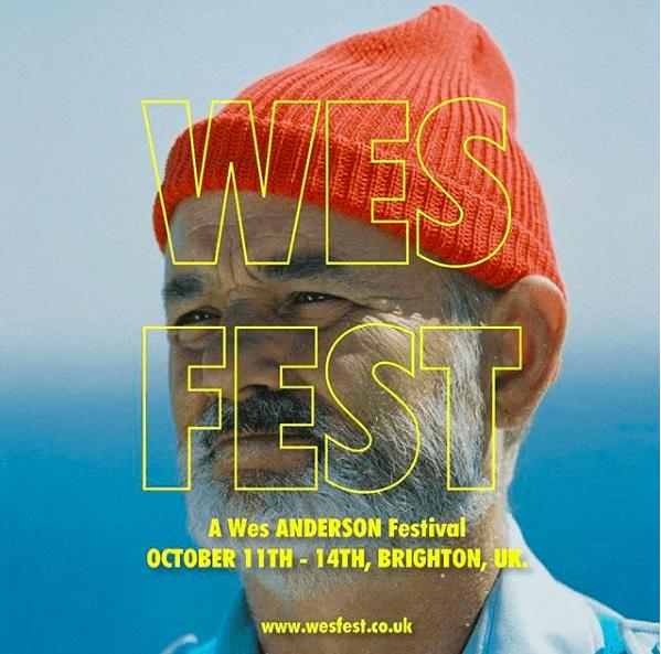 wes anderson, regisseur, festival, film, brighton, cinema