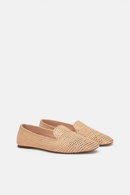 zara braided loafers summer