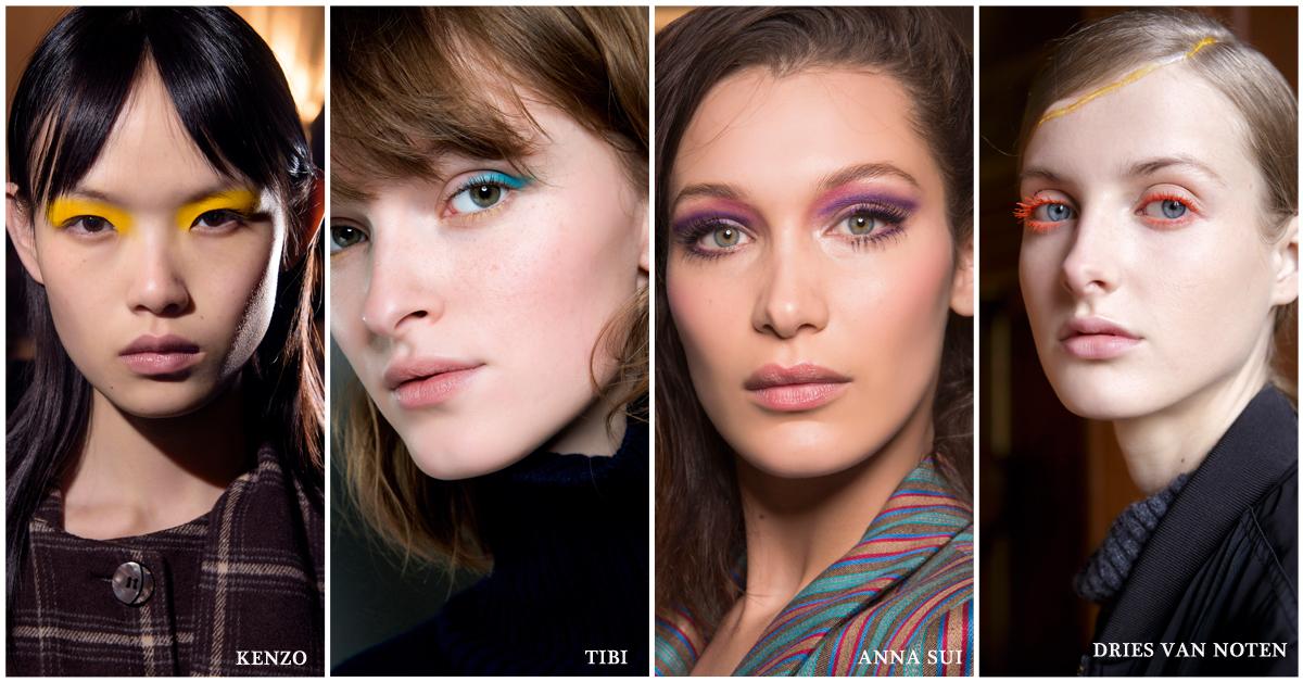 beautytrends make-up 2018 kleur