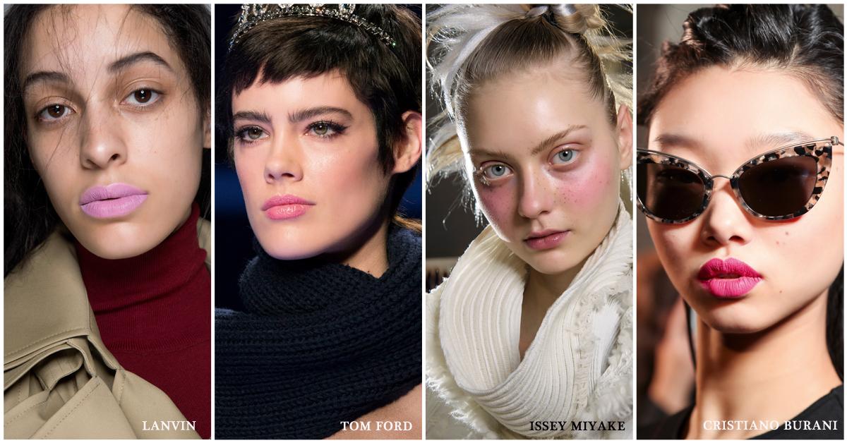 beautytrends make-up 2018 roze blush