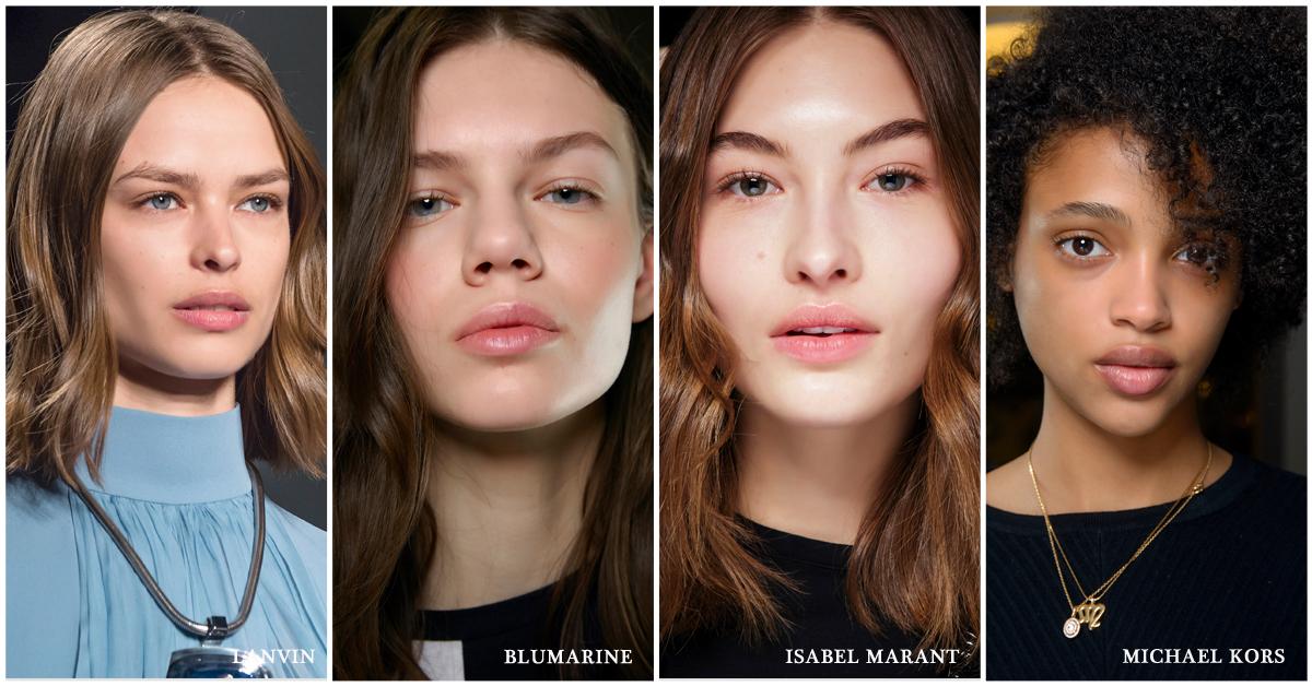 beautytrends najaar 2018 make-up perfecte huid canvas