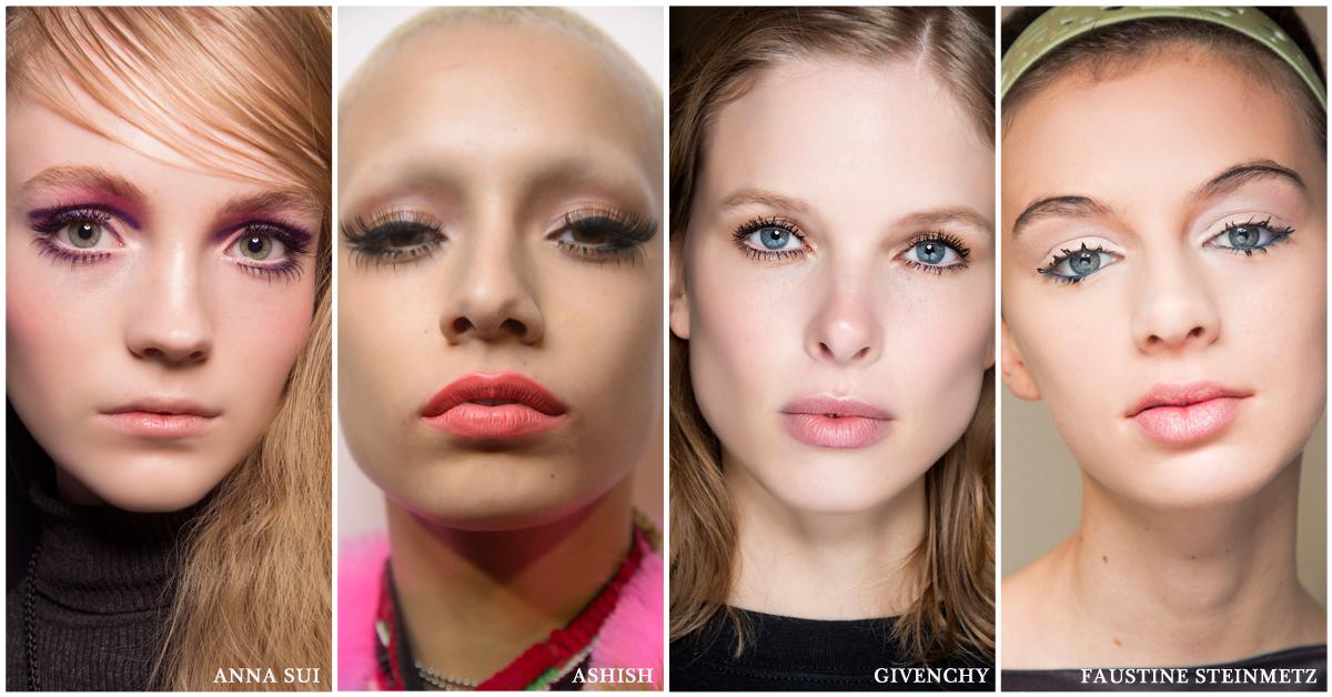beautytrends najaar make-up wimpers mascara