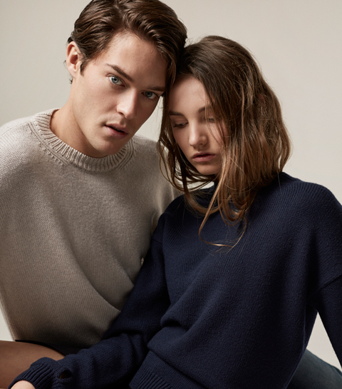Cesar Casier lanceert knitwear collectie