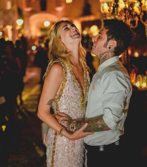 Zo zag de fantastische bruiloft van Chiara Ferragni en Fedez eruit