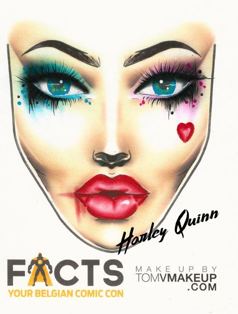 facts, cosplay, fantasy, anime, inspiratie, make-up, harley quinn, tips, catwoman, poison ivy, the joker