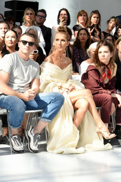 Celine Dion Front row