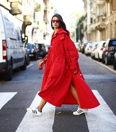 Zien: de beste streetstyle op Milaan Fashion Week
