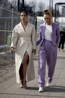 Milaan fashion week streetstyle