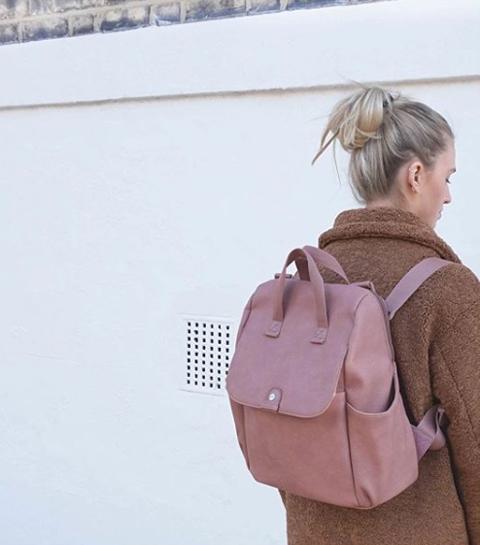 Waar shop je coole mommy bags?