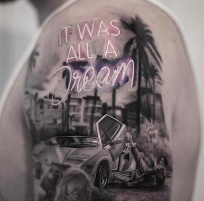 tattoo, tatoeages, inspiratie, aquarel, artist, inal bersekov