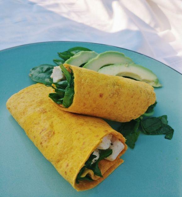 gezond koken op kot groentenwraps