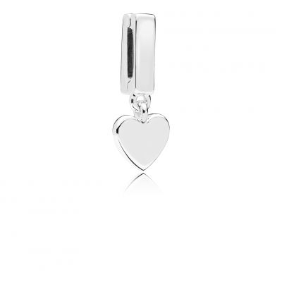 Pandora – Autumn 2018 – Reflexions – Silver Floating Heart Fixed Dangle – 29 euros