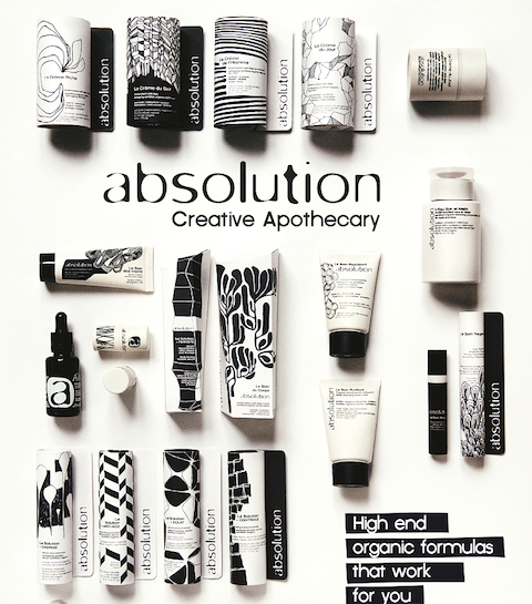 Sterk merk: Absolution cosmetics