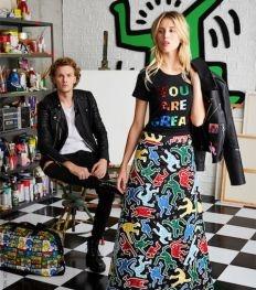 Alice + Olivia lanceert een Keith Haring capsule collectie
