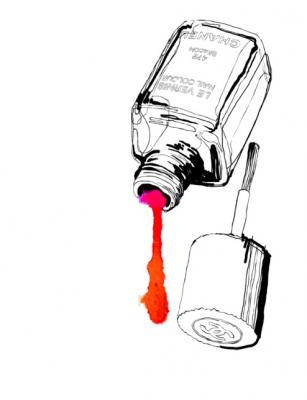 nagellak, alternatief, dissolvant, tips