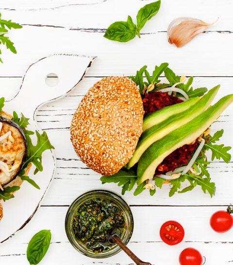 Drie pittige en vegetarische hamburgerreceptjes