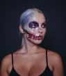 Halloween make-up tutorial: unicorn skull