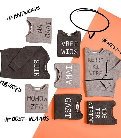 Mohow zeg: JBC brengt sweaters in dialect uit
