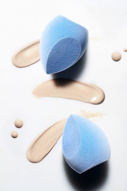 make-up, tool, velvet sponge