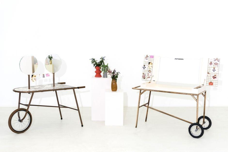 mobile make-up bar, labelchic, florence teerlinck, flowertattoo