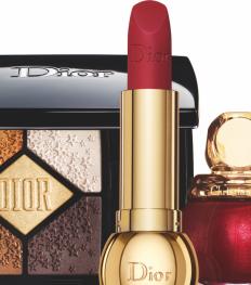 Wegdromen bij de kerstmake-up van Dior