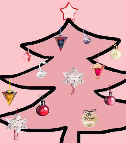 Deze beautyproducten hang je in je kerstboom