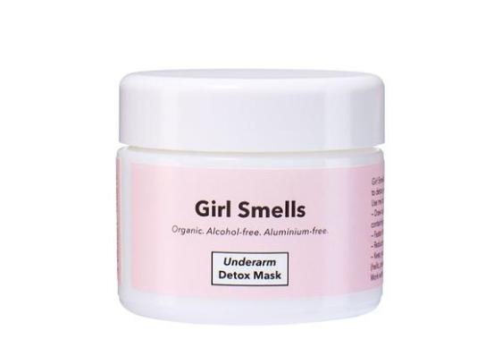 natuurlijke deodorant girl smells detox mask