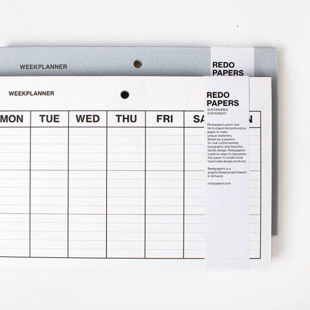weekplanner redo
