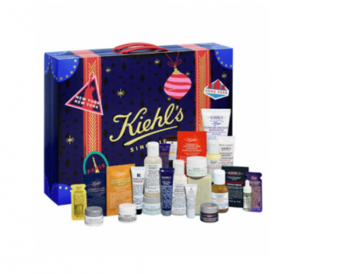 beauty adventskalender kiehl's