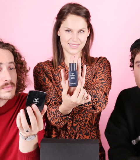 ELLE Beauty Spy test mannenmake-up van Chanel