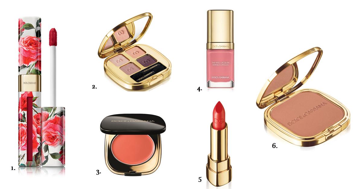 dolce & gabbana make-up luxe