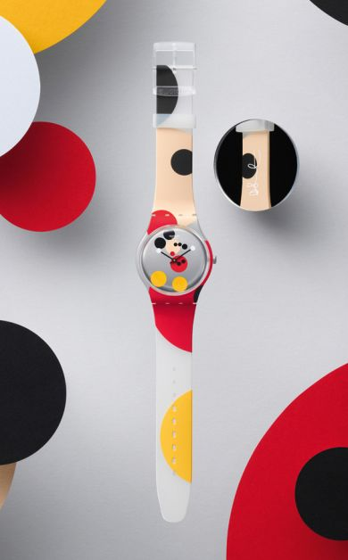 swatch damien hirst mickey mouse