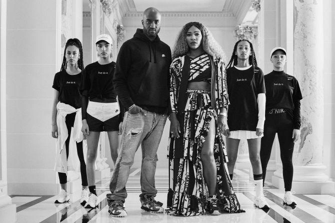 Nike Serena Williams Virgil Abloh collabs