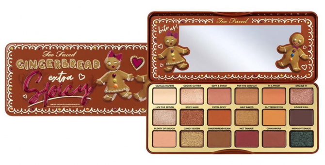 too faced oogschaduw palette