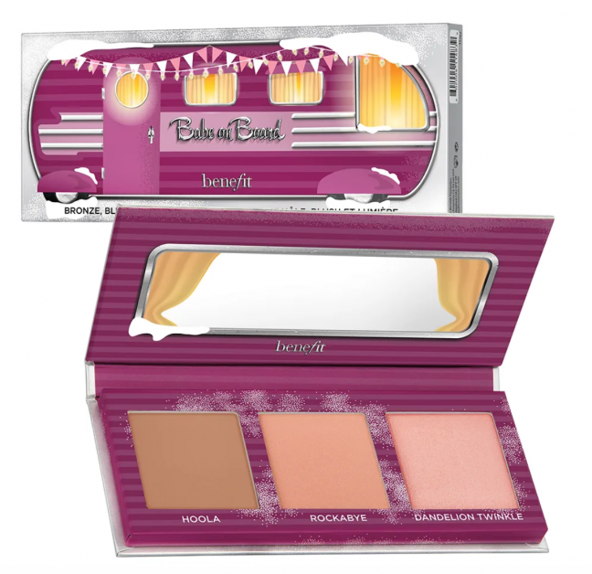 benefit palette kerst make-up