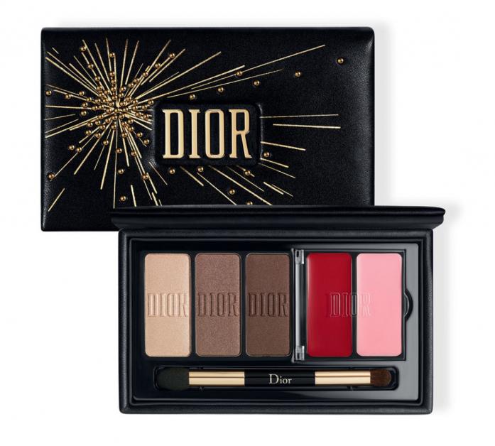 Dior make-up feest kerst make-uppalette